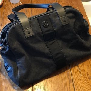 Wool-blend Lululemon bag